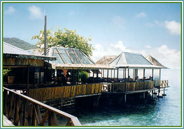 Basils Bar Mustique