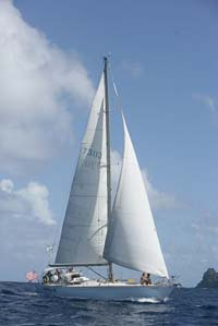 Sailing at Bequia
